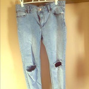 Vintage washed Free People Jeans